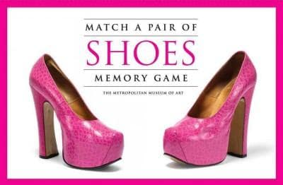 Match a Pair of Shoes Memory Game (Cards)