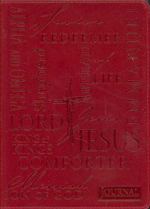 Names of Jesus Journal (Notebook / blank book)