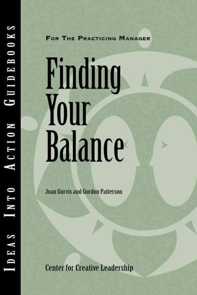 Finding Your Balance (Paperback)