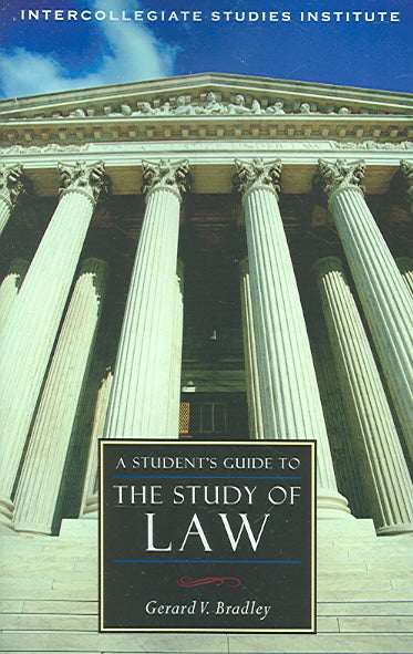 A Student's Guide to the Study of Law (Paperback)
