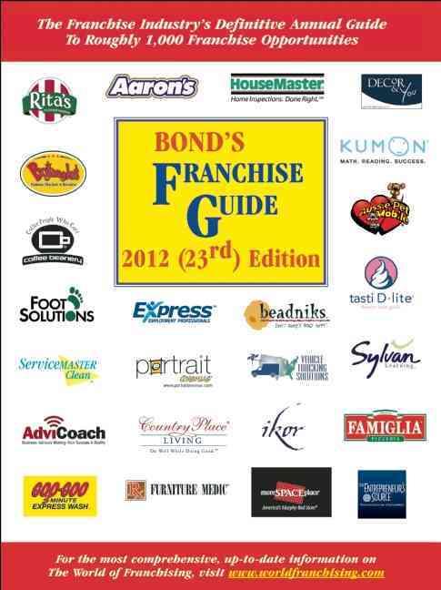 Bond's Franchise Guide 2012 (Paperback)