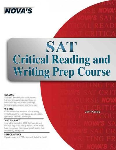 Sat Critical Reading and Writing Prep Course (Paperback)