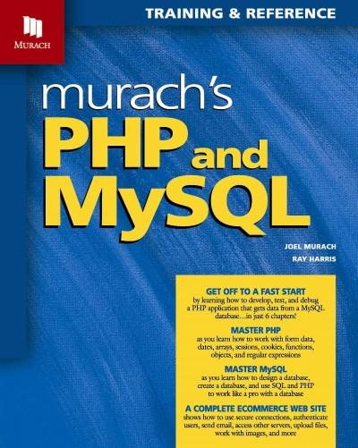 Murach's PHP and MySQL: Training & Reference (Paperback)