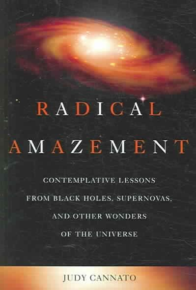 Radical Amazement: Contemplative Lessons from Black Holes, Supernovas, And Other Wonders of the Universe (Paperback)