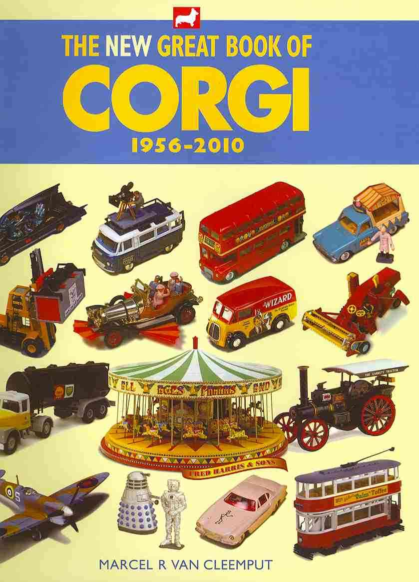 The New Great Book of Corgi, 1956-2010 (Hardcover)