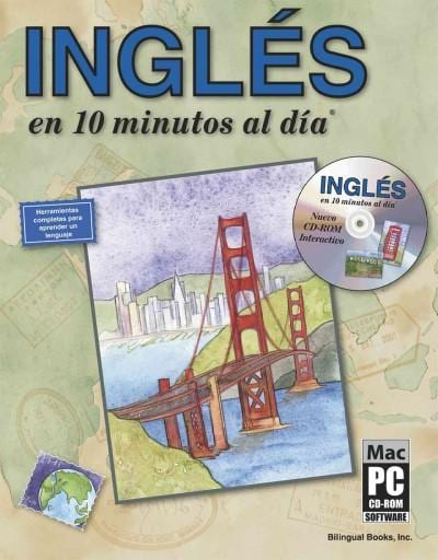 Ingles en 10 minutos al dia/English in 10 Minutes a Day with CD-Rom