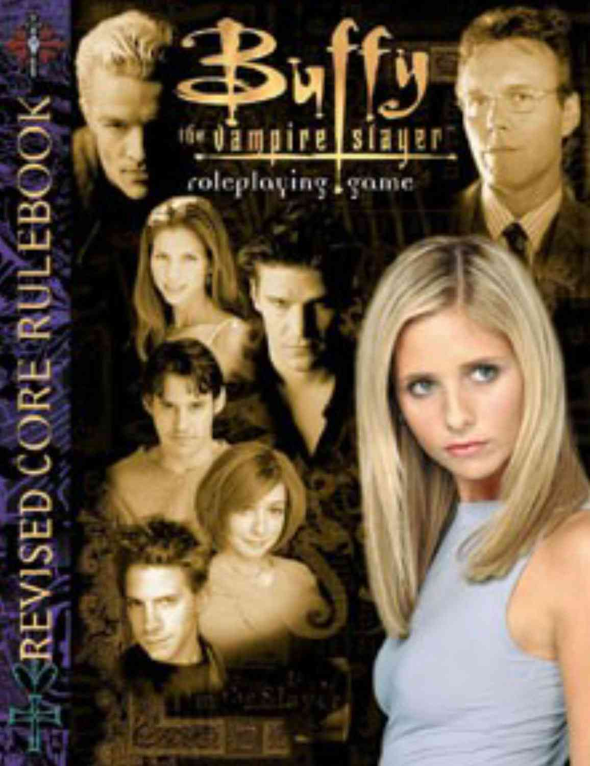 Buffy The Vampire Slayer Roleplaying Game: Core Rulebook (Hardcover)