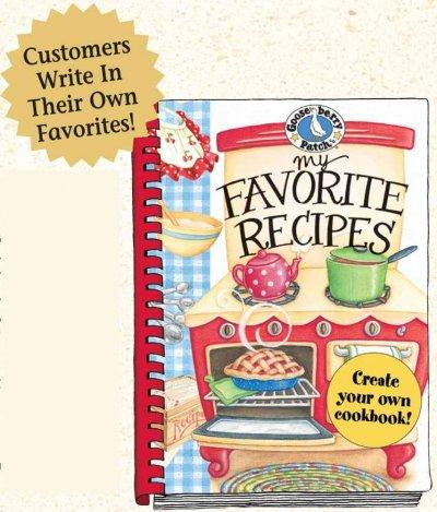 My Favorite Recipes: A Create Your Own Cookbook! (Hardcover) - Thumbnail 0