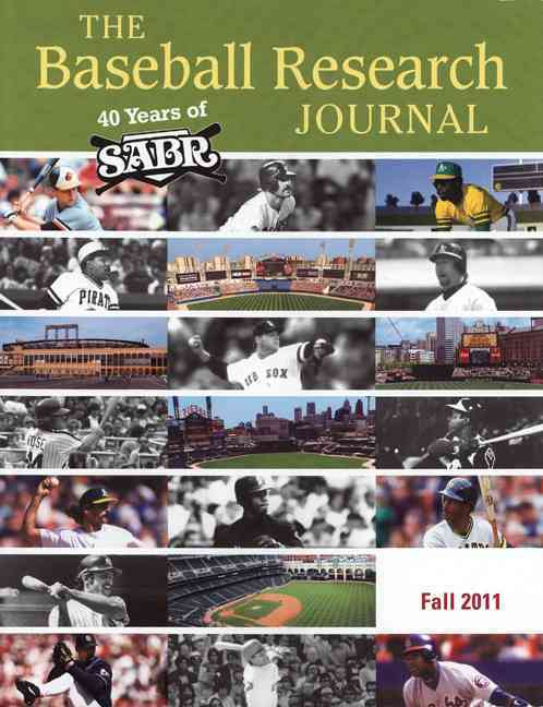 The Baseball Research Journal: Fall 2011 (Paperback)