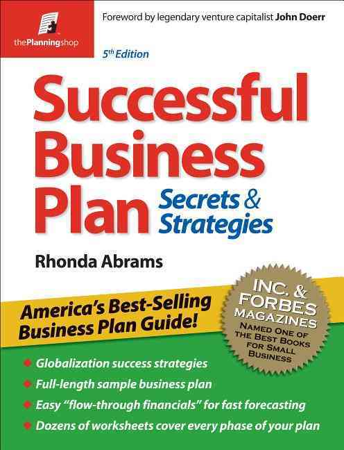 Successful Business Plan: Secrets & Strategies (Paperback)