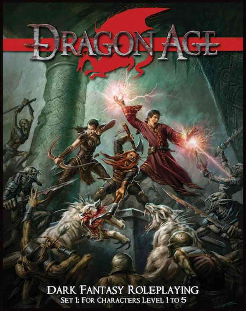 Dragon Age: Dark Fantasy Roleplaying, Set 1: for Characters Level 1 to 5 (Game)