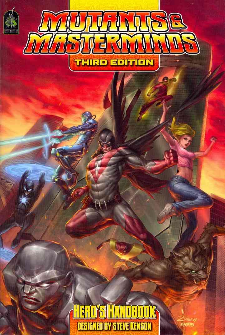 Mutants & Masterminds Hero's Handbook (Paperback)