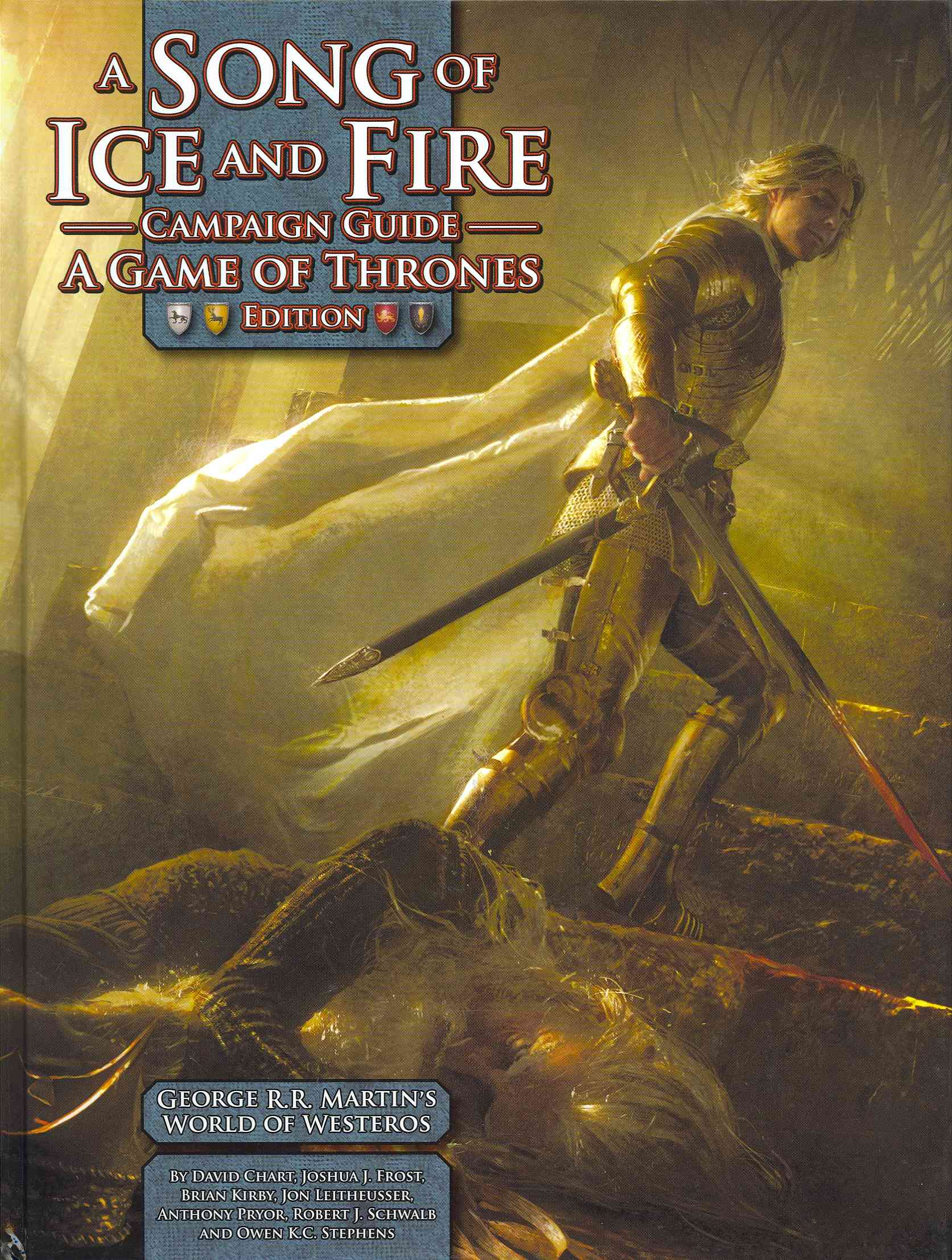 A Song of Ice and Fire Campaign Guide: A Game of Thrones Edition (Hardcover)