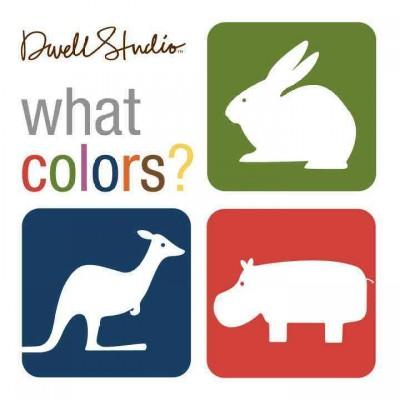 What Colors? (Board book)