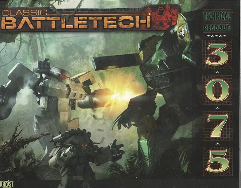 Classic Battletech Technical Readout 3075 (Paperback)
