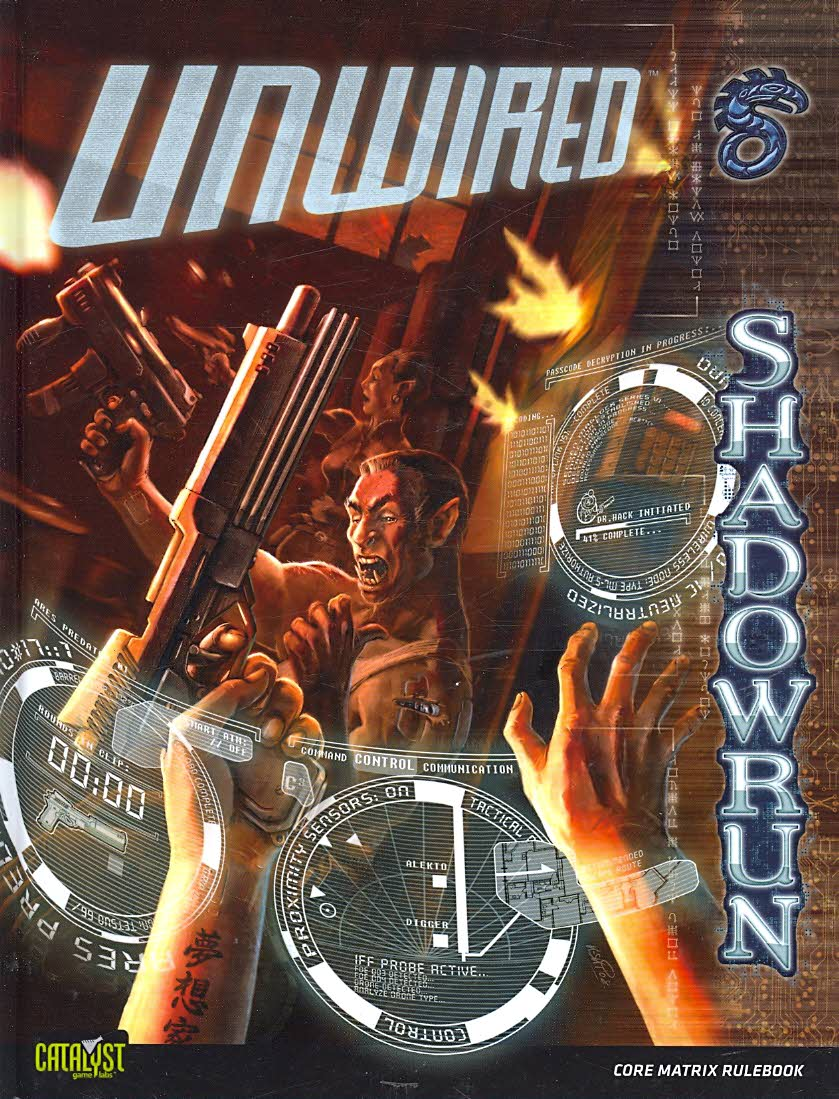 Unwired: A Shadowrun Core Rulebook (Hardcover) - Thumbnail 0