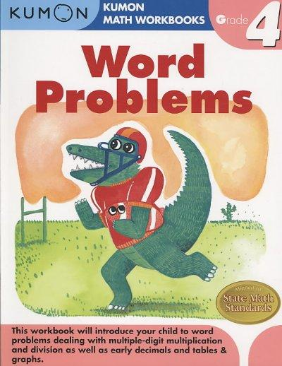 Word Problems Grade 4 (Paperback)