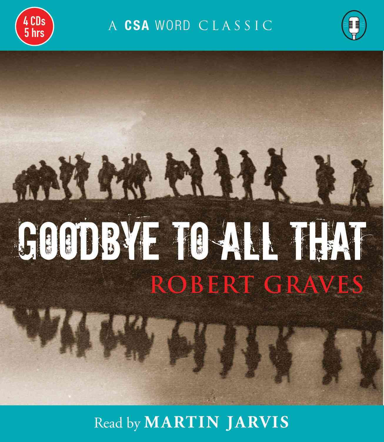 Goodbye to All That (CD-Audio)