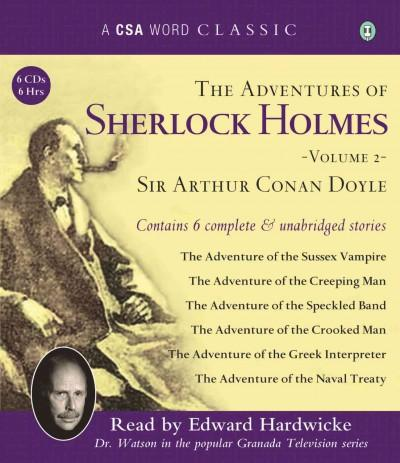 The Adventures of Sherlock Holmes (CD-Audio)