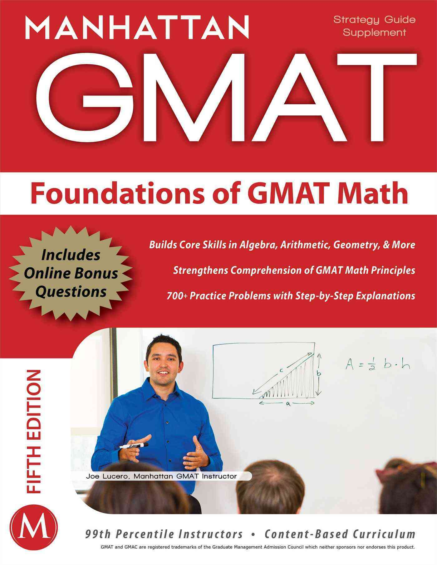 Foundations of GMAT Math: Gmat Strategy Guide