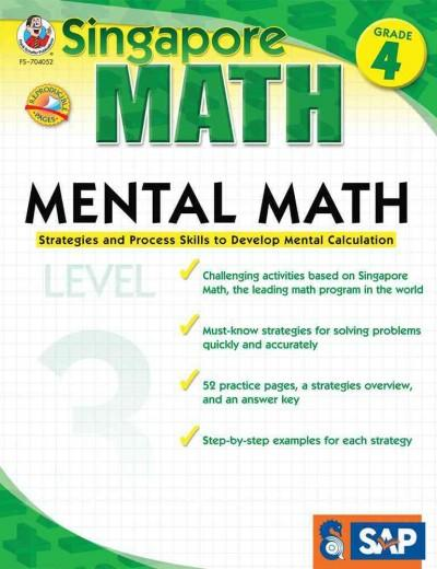Mental Math Grade 4: Strategies and Process Skills to Develop Mental Calculation (Paperback)