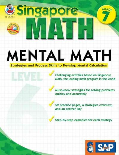 Mental Math Grade 7, Level 6: Strategies and Process Skills to Develop Mental Calculation (Paperback)