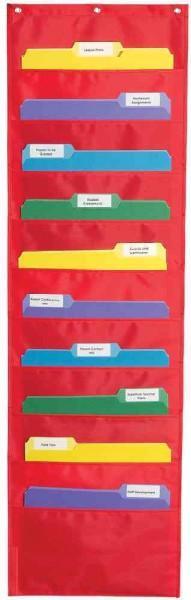 Storage Pocket Chart (Wallchart)