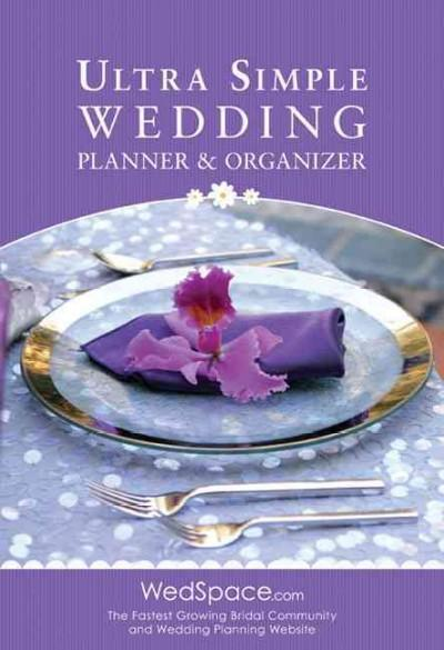 Ultra Simple Wedding Planner & Organizer (Paperback)