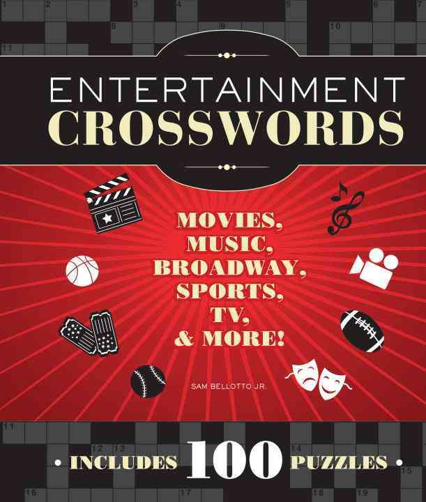 Entertainment Crosswords: Movies, Music, Broadway, Sports, TV & More! (Paperback)