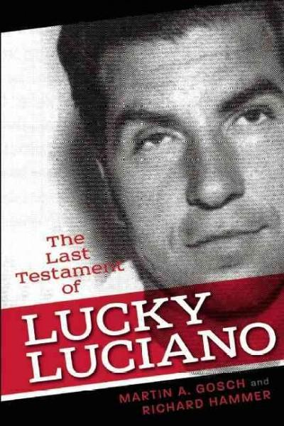 The Last Testament of Lucky Luciano (Paperback)