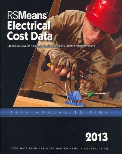 Electrical Cost Data 2013 (Paperback)