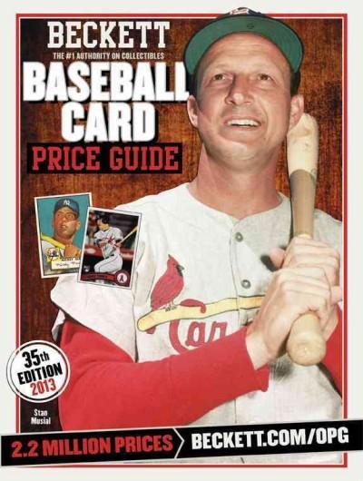 Beckett Baseball Card Price Guide 2013 (Paperback)