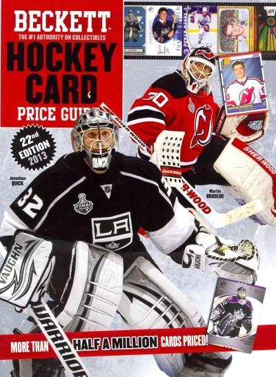 Beckett Hockey Card Price Guide 2013 (Paperback)