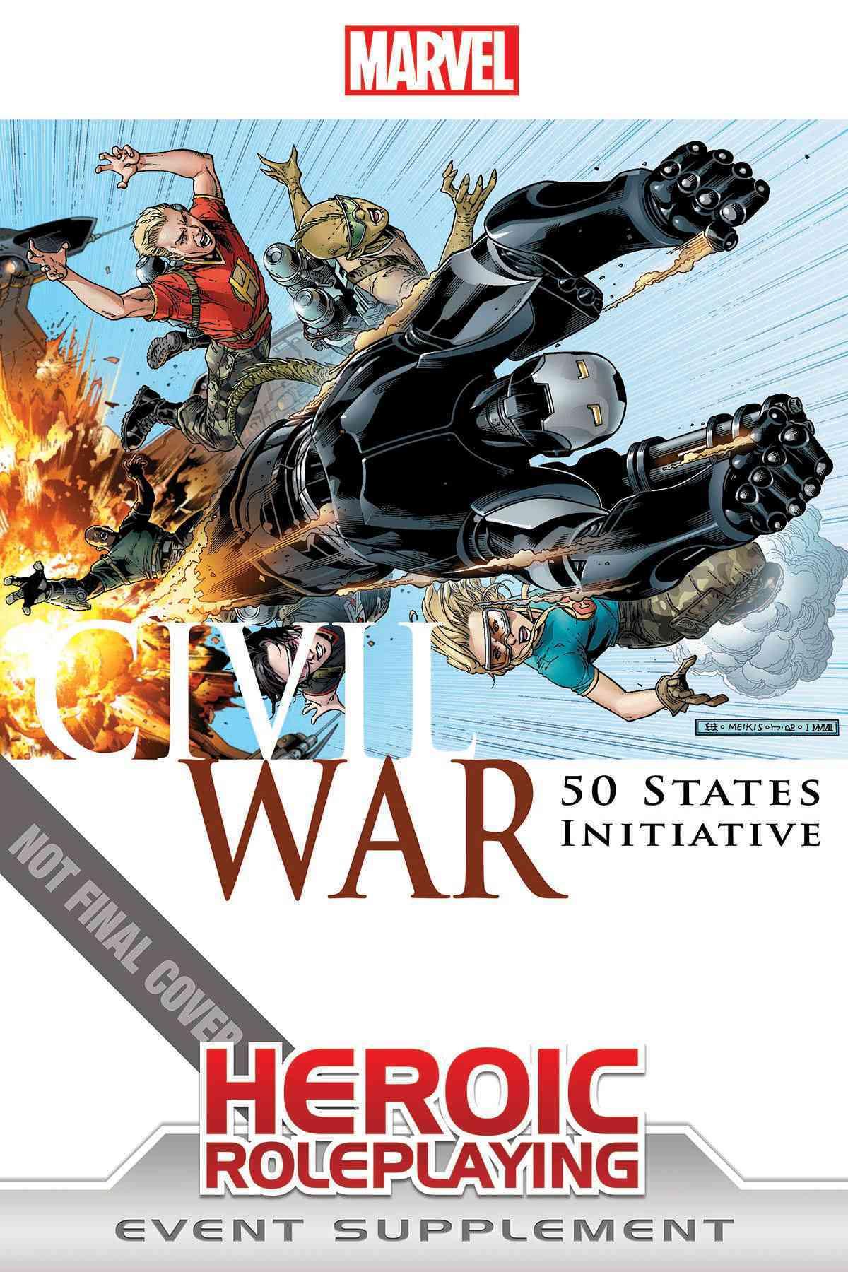 Civil War 50 States Initiative (Paperback)