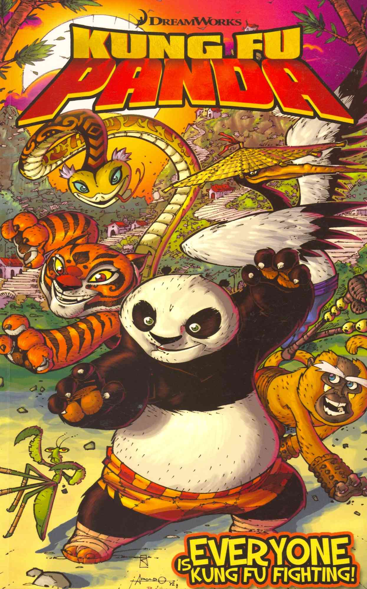 Kung-Fu Panda: Everyone Is Kung-Fu Fighting (Paperback)