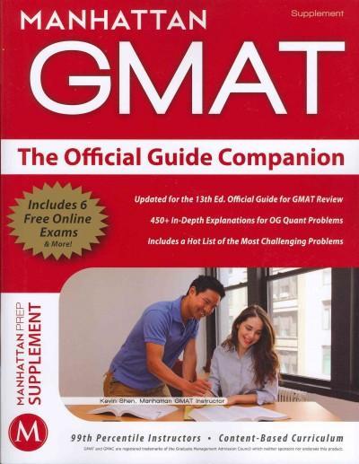 Manhattan Gmat: The Official Guide Companion