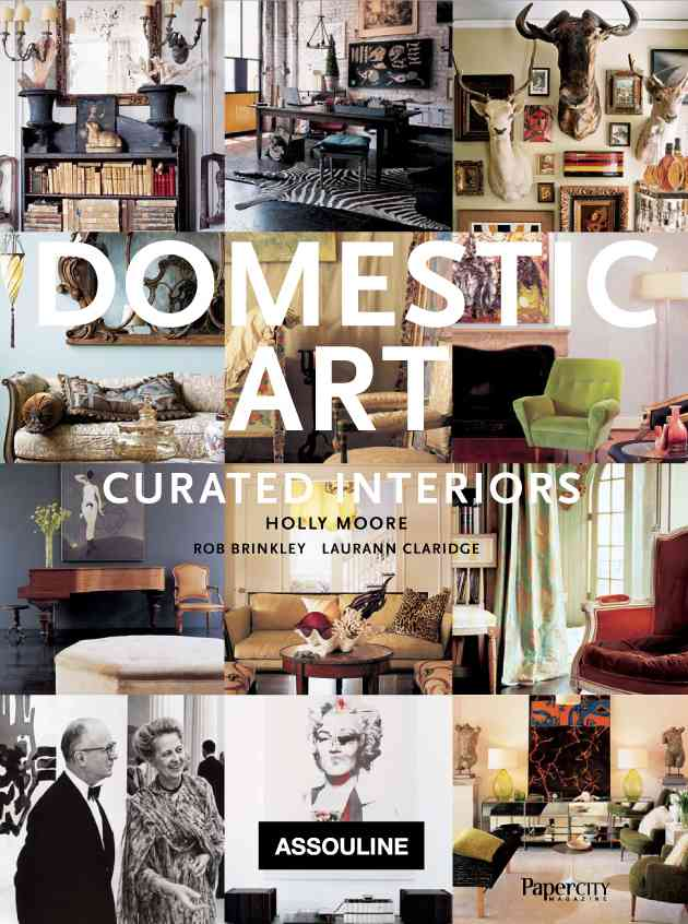 Domestic Art:Curated Interiors(Hardback)