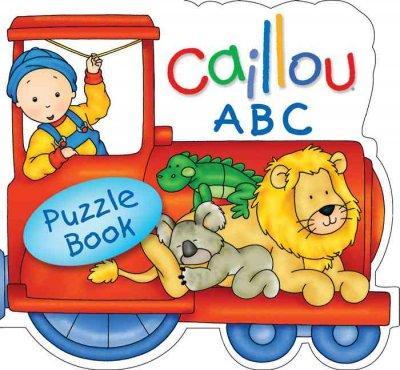 Caillou ABC Train (Board book)