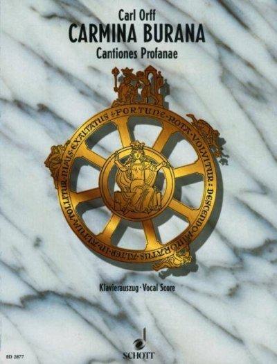 Carmina Burana Vocal Score (Paperback)