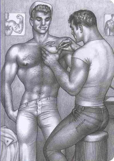 Blank Book 2- Tom of Finland (Notebook / blank book)