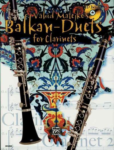 Vahid Matejko's Balkan-Duets for Clarinets
