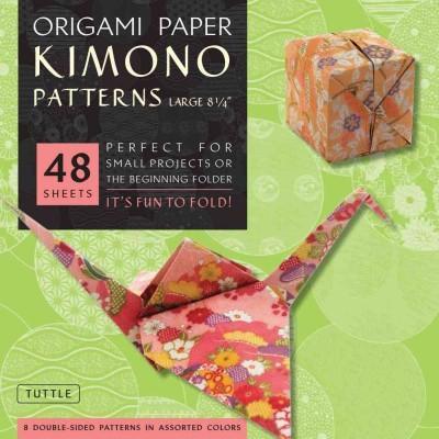 Origami Paper Kimono Patterns Large (Paperback)