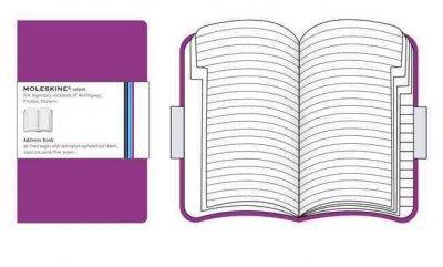 Moleskine Dark Pink Address Book Volant Large (Address book)
