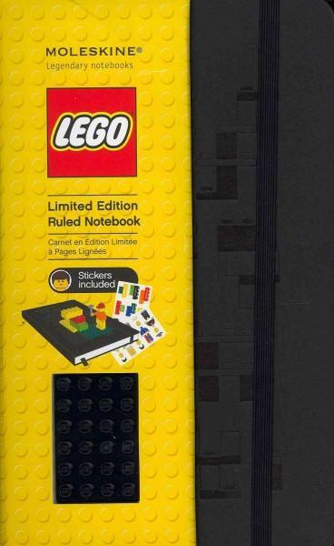 Moleskine Lego Black Brick Large Black Ruled Notebook (Notebook / blank book)