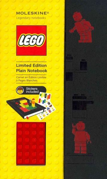 Moleskine Lego Red Brick Plain Large Black (Notebook / blank book)