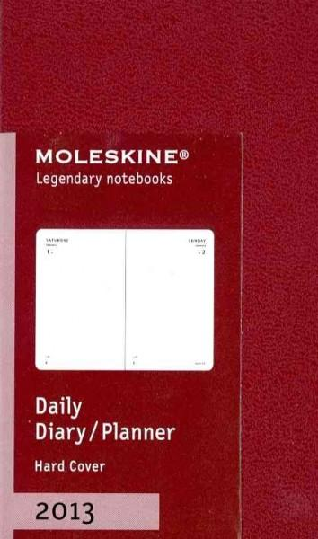 Moleskine Bordeaux Red Extra Small 2013 Daily Planner (Calendar) - Thumbnail 0