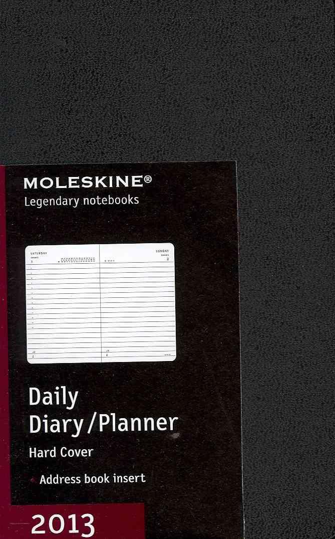 Moleskine Black 2013 Daily Diary / Planner (Calendar)
