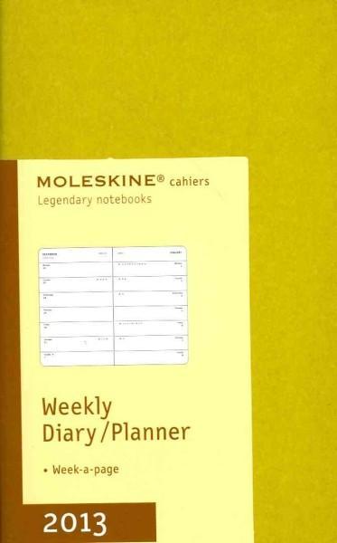 Moleskine Cahiers Mais Weekly Diary / Planner Pocket 2013 Calendar (Calendar)
