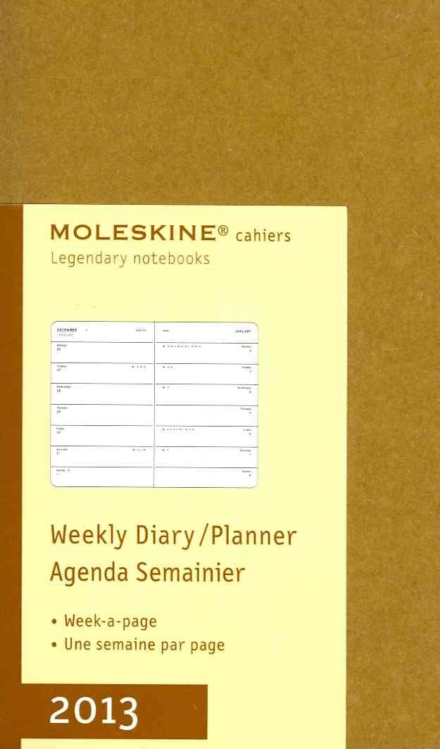 Moleskine Weekly Diary / Planner 2013 (Calendar)