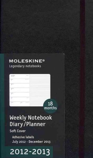 Moleskine Weekly Notebook Diary/Planner 2012-2013 (Calendar)